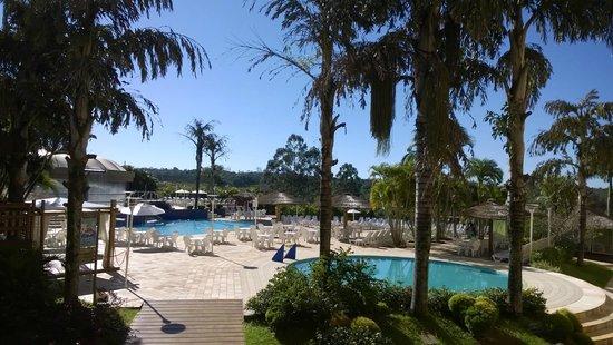 Mabu Thermas Grand Resort: Vista da piscina