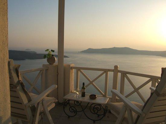 Dana Villas Hotel & Suites: notre balcon