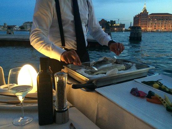 Riviera : Seabass main yummy