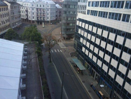 Radisson Blu Scandinavia Hotel: view from 3rd floor