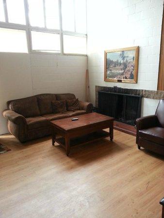 Riverside State Park : living room - Retired Ranger House