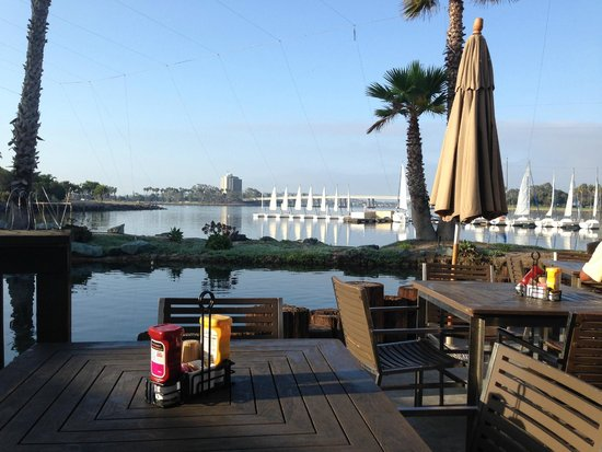 Paradise Point Resort & Spa: A view from the Barefoot Bar and Grill