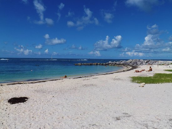 Fort Zachary Taylor Historic State Park : Fort Zachary Beach