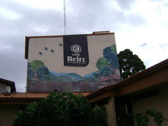Britt Coffee Tour: factory