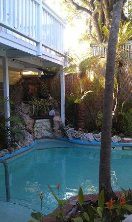 Garden House: Pool area