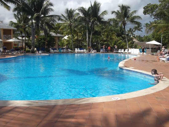Grand Bahia Principe San Juan : Second pool on site near our room