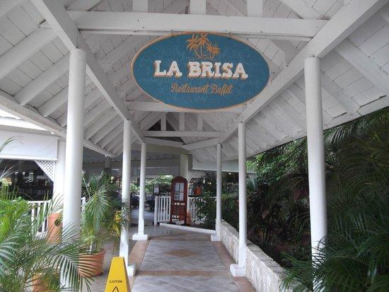 Grand Bahia Principe San Juan : Entrance area to the La Brisa Buffet Restaurant