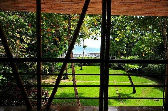 Casa Bambu Resort: view from the upstairs porch