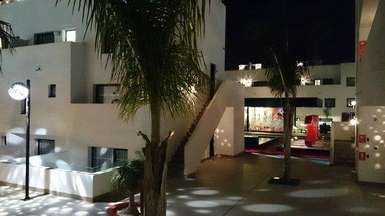 Migjorn Ibiza Suites & Spa : Sicht zum Coiffure