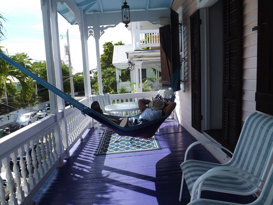 Key West Bed and Breakfast : Trey just hanging out