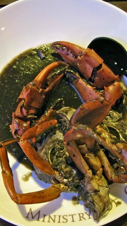Ministry of Crab : black pepper crab