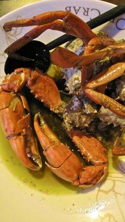 Ministry of Crab : chilli garlic crab