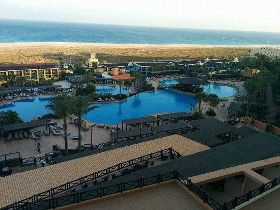 Occidental Jandia Playa: Voilà la vue de la chambre sur la piscine