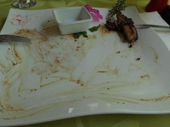 Restaurant 1643: aiguillettes de canard après !