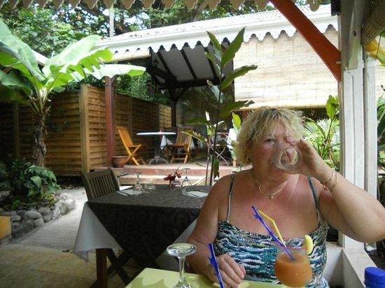 Restaurant 1643: un planteur en Terrasse, la douceur des Antilles
