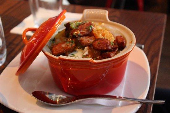 W Atlanta Midtown: GA Shrimp & Grits - Trace Restaurant