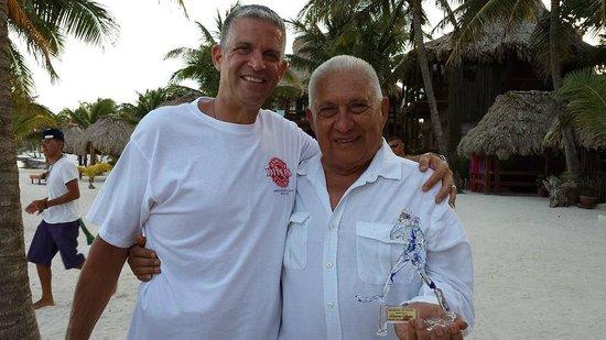 "Ramon's Village Resort: Ramon Nunez ""Legond of Diving"" and Boomer"