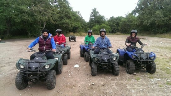 Quad Bike Treks Aviemore: Ready for some fun !