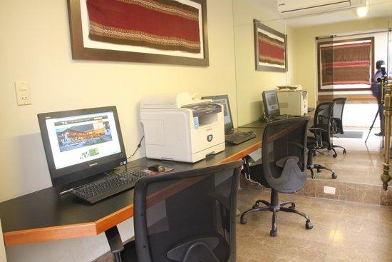 Casa Andina Classic Miraflores San Antonio : Internet Ceneter