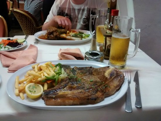 El Cedro: Steak