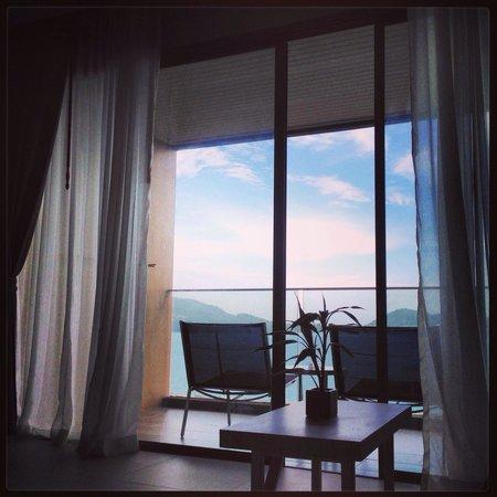 Kalima Resort & Spa: Notre premier reveil a kalima