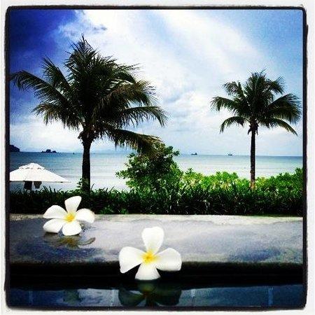 Pullman Phuket Panwa Beach Resort: Prise de la piscine