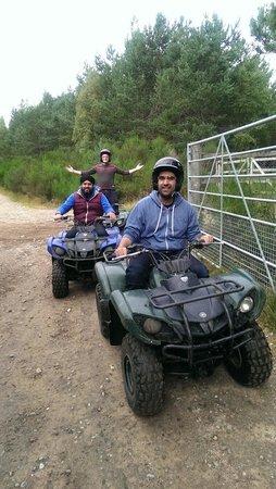 Quad Bike Treks Aviemore: We had fun !