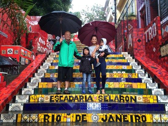 Madson Araujo, Rio De Janeiro Tour: Selaron Steps