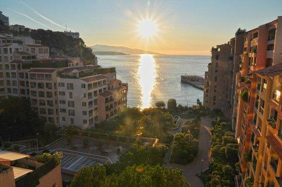 Columbus Monte-Carlo: Merveilleux lever de soleil