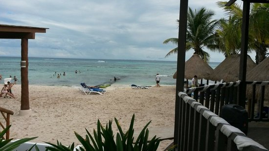 Sandos Caracol Eco Resort: Playa del hotel