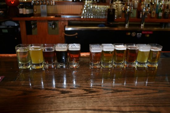 Wild Wolf Brewing Company: Our flight....