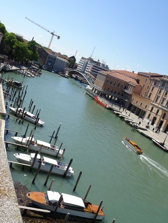 Hotel Carlton on the Grand Canal : View from rooftop