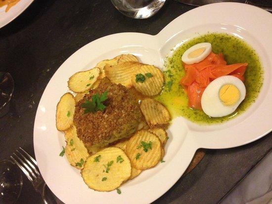 Ode Porto Wine House: Baked cod