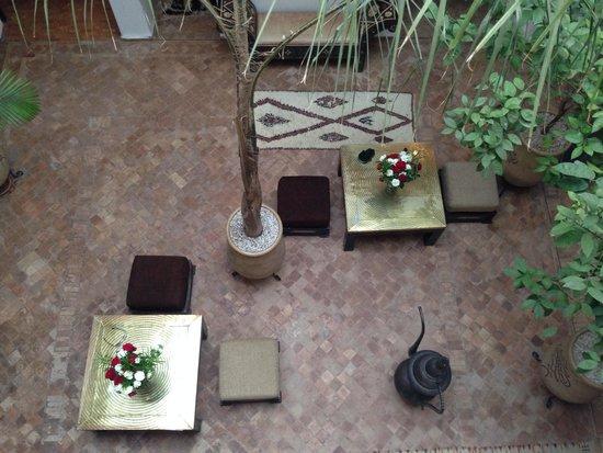 Riad Chafia: Foto dalla terrazza