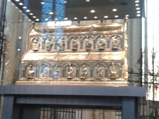 Kölner Dom: tumba de los reyes magos