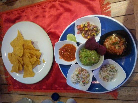 Taco Beach Grill: Delicious Salsa
