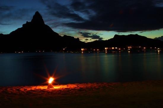 InterContinental Bora Bora Resort & Thalasso Spa: Sunset
