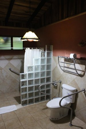 Hotel Kokoro Arenal: Bathroom in our cabin
