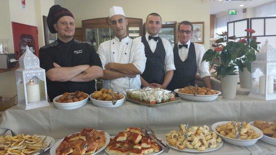 Hotel Igea Spiaggia : staff 2014