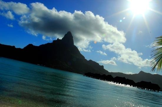 InterContinental Bora Bora Resort & Thalasso Spa: View from the beach