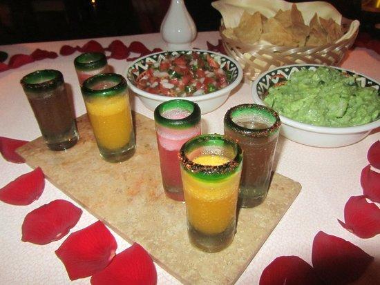 Excellence Playa Mujeres: Margarita tasting at Agave