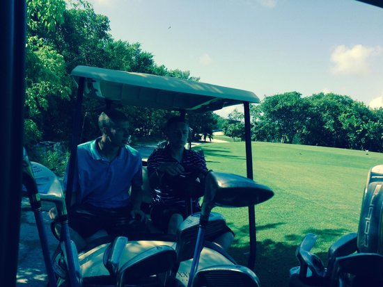 Grand Luxxe Riviera Maya: On the Golf Course - beautiful course