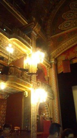 Juarez Theater (Teatro Juarez): Adentro, vista de los balcones