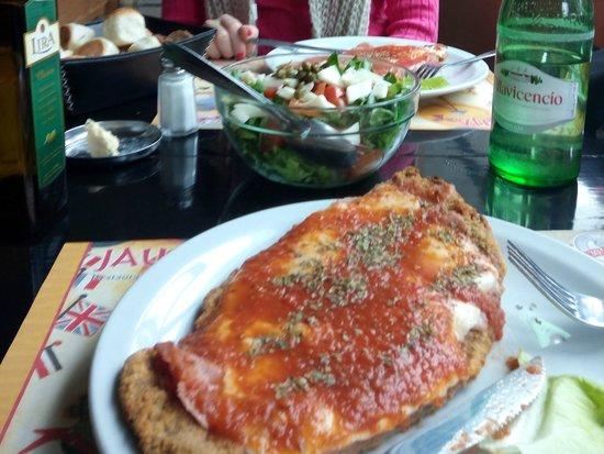 Jauja Restaurante y Parrilla: bife individual