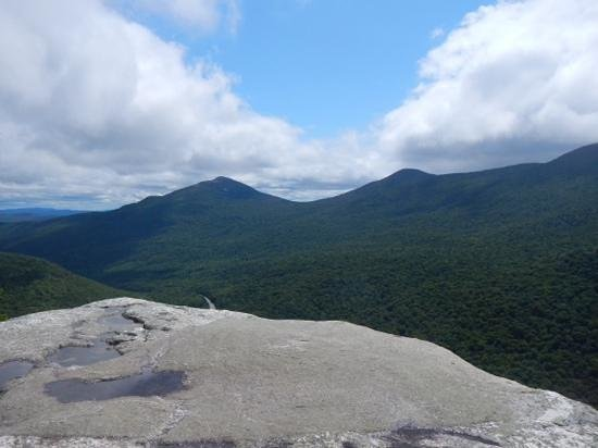 Grafton Notch State Park: view from the top of table rock loop