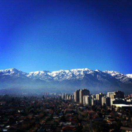 Norus Apartments Las Condes: Vista da Cordilheira dos Andes