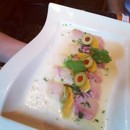 Seastar Restaurant & Raw Bar: Carpacio de daurade
