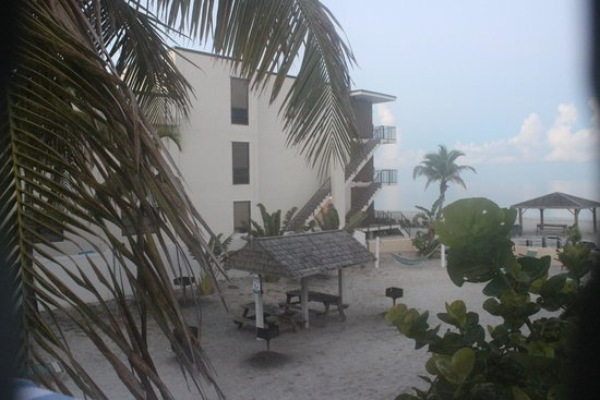 Coquina On The Beach: the beach view from our private balcony