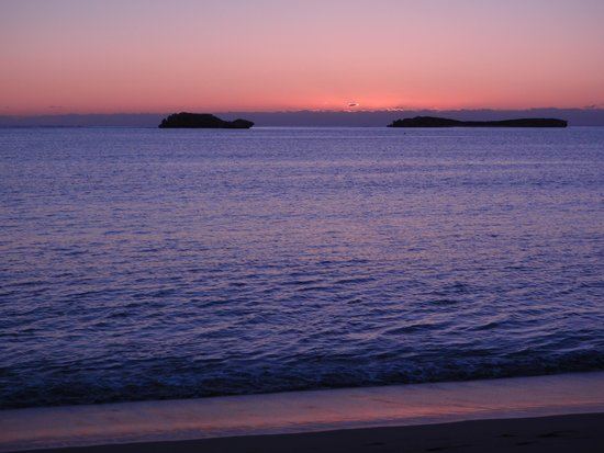 Shoalwater Islands Marine Park: sunset Seal island