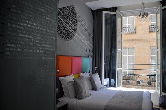 Lyric Hotel Paris : chambre